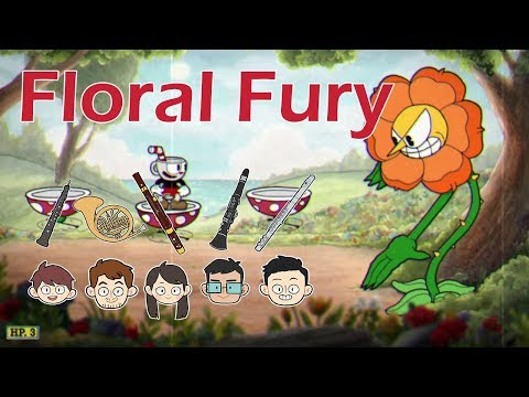 [Hikari Woodwind Quintet] Cuphead - Floral Fury