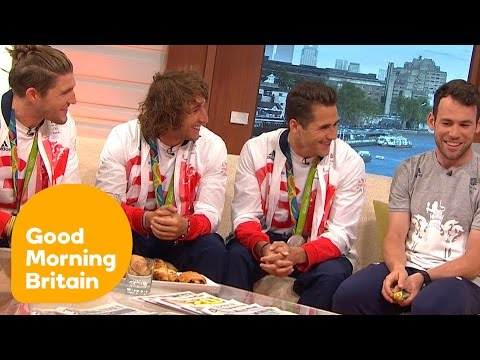 Team GB's Rugby Sevens Team And Mark Cavendish On Their Olympic Success | Good Morning Britain
