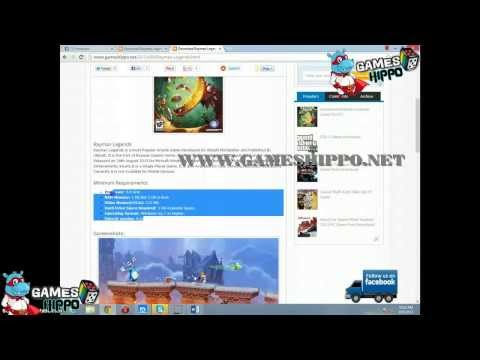 Download Rayman Legends Game For PC - GamesHippo.net
