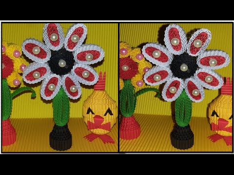 DIY flower from corrugated paper / kokoru paper (easy and simple)