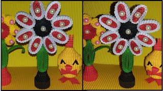 Diy Flower From Corrugated Paper Kokoru Paper Easy And Simple By Sweet Home