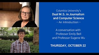 The Dual M.S. in Journalism and Computer Science  An Introduction