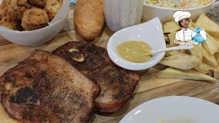 Lamb Steak || Steak d'agneau