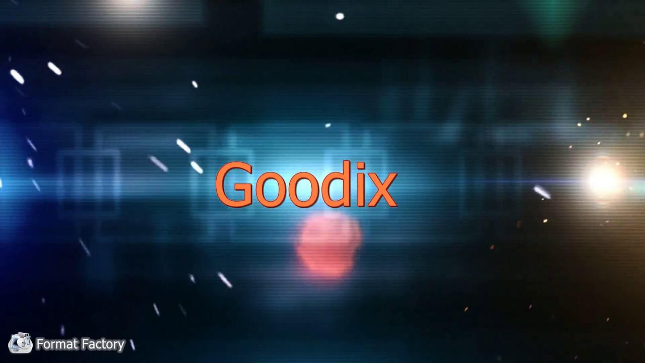 Introduction of Goodix optical IN DISPLAY FINGERPRINT SENSOR™