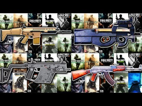 The Evolution of Weapons in Every Call of Duty..