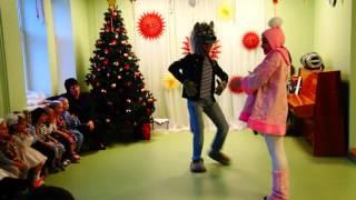 Новый год Дед Мороз и Снегурочка В детском саду ''Елочка'' Маша и Медведь Представление Дети