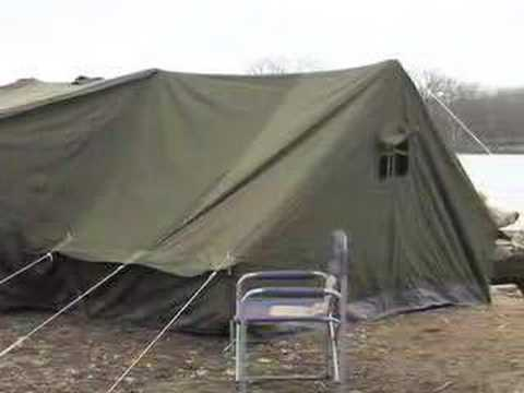 sc 1 st  YouTube & Russian Canvas Tent - YouTube