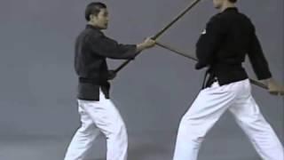 Урок 7  Базовая техника кихон работы с бо раздел 3  Элементы кумите