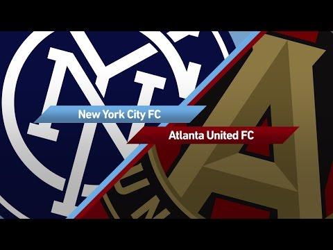 Highlights: New York City FC vs. Atlanta United FC   May 7, 2017