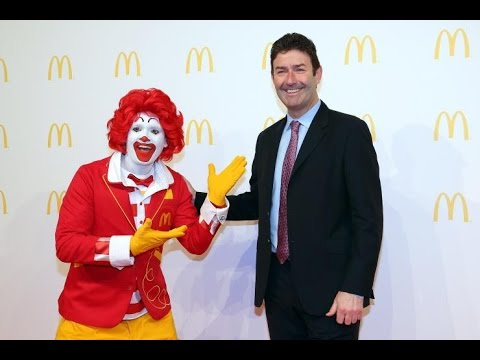 MCDONALD'S CEO GETS GRILLED AT FIRST ANNUAL MEETING