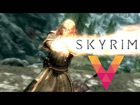 Skyrim intro on Android [Vortex Cloud Gaming]
