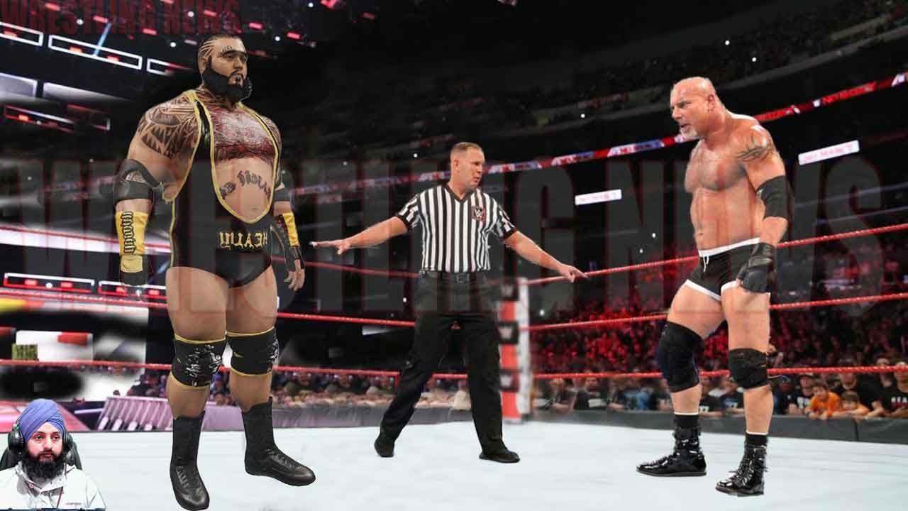 Goldberg vs Big Kahuna No Dq Match  Wrestling News
