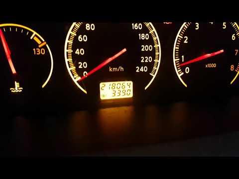 Nissan Primera P12 QG16DE . Расход топлива