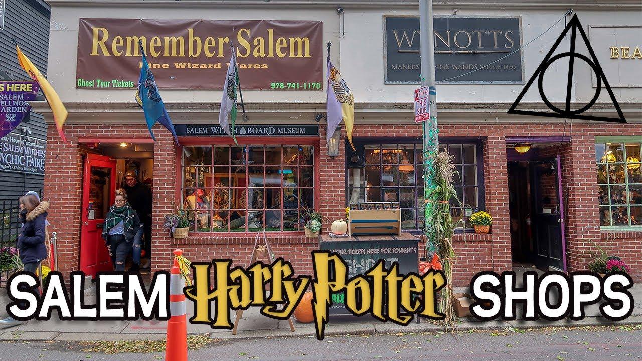 Salem Harry Potter Shops Tour Wynotts Wands Remember Salem Youtube