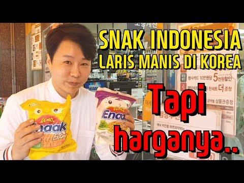 GILA HARGANYA! TAPI SNAK INDONESIA(ENAAK) DIJUAL LARIS MANIS DI KOREA!