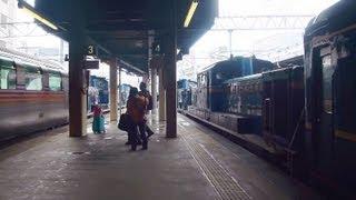 2013年2月2日撮影 カシオペアの遅れがもたらした札幌駅での北斗星...