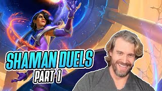(Hearthstone Duels) Can Shaman Get 12 Wins In Duels? Part 1/3