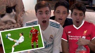 Real Madrid vs Liverpool 3-1 2018 REACCIONES DE UN HINCHA (FINAL CHAMPIONS) RESUBIDO
