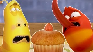 LARVA - CUPCAKE | Cartoon Movie | Cartoons For Children | Larva Cartoon | LARVA Official