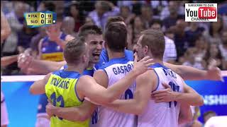 Italy vs Slovenia Men World Championship 2018 Preliminary Round- Full Match Highlights - HD