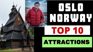 Top 10 amazing attractions of Oslo HD - (Norway 10 days family trip report-1)