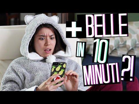 COME ESSERE PIÙ BELLE IN 10 MINUTI?!?