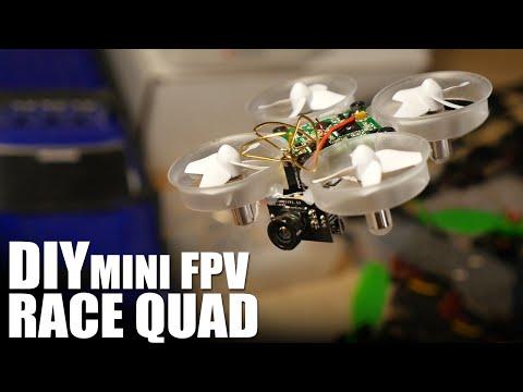 DIY Mini FPV Race Quad | Flite Test
