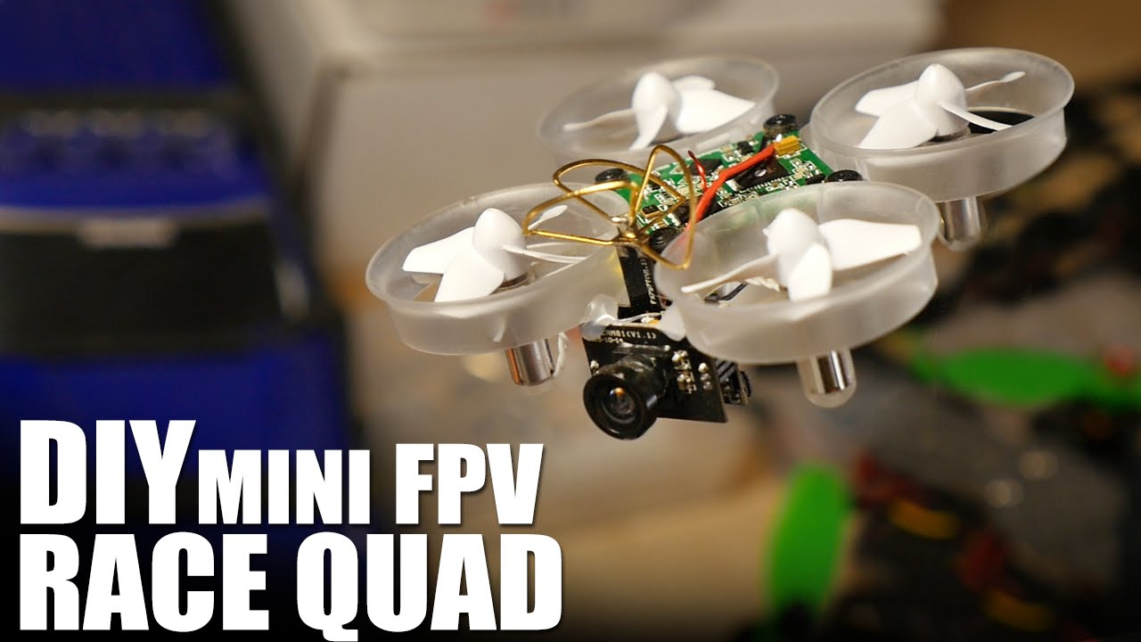 DIY Mini FPV Race Quad | Flite Test