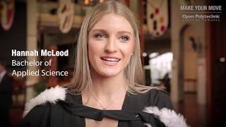 Hannah – Graduate Story – Bachelor of Applied Science