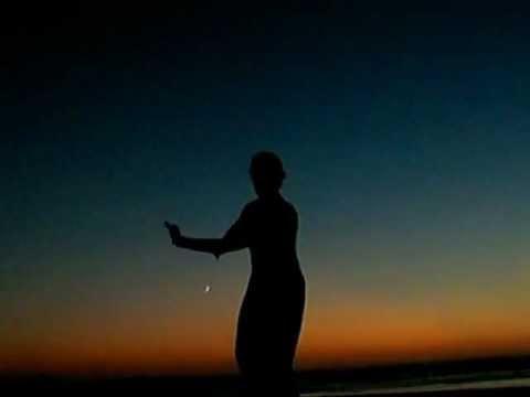 Wu Xuan Yin-Yang Tai Chi Form (partial) @ sunset, Odeceixe, Portugal