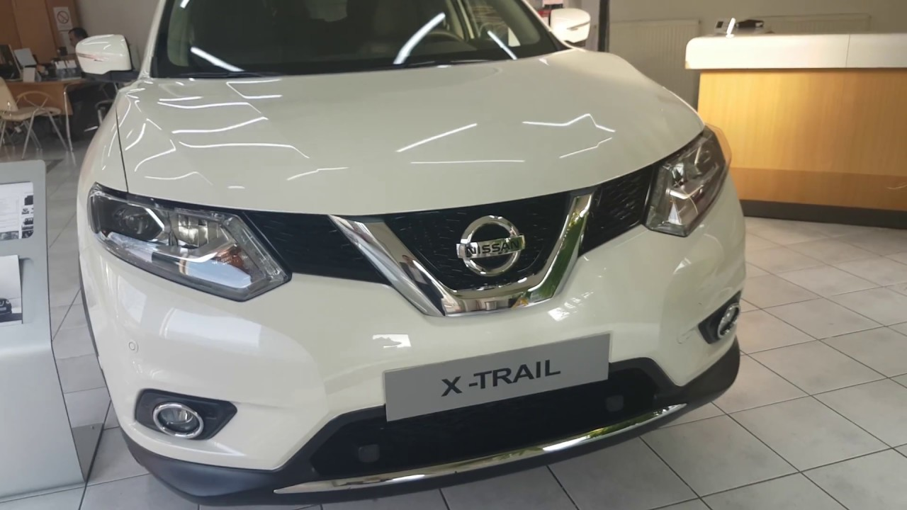 New Nissan X-trail 1.6 dci 2017 exterior and interior ...