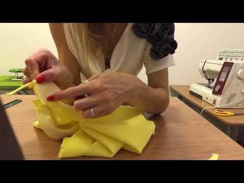 0 - Як зшити плаття зі спідницею-сонце?