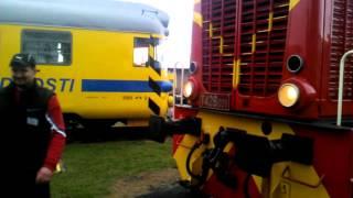 Lokomotivy T426 a 708 zblízka