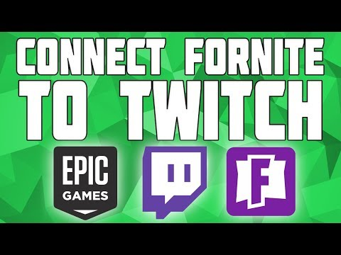 Connect Twitch To Fortnite Account! How To Connect Your Twitch Account To Epic Games!