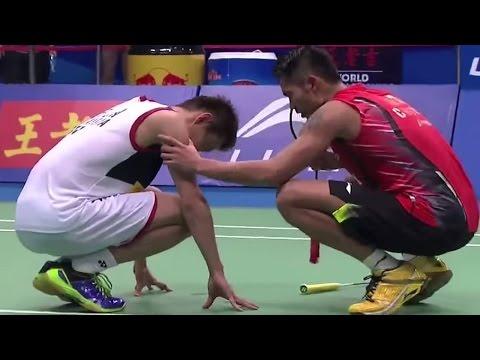 Lin Dan v Lee C.W. MS-F  Wang Lao Ji BWF World Champ. 2013