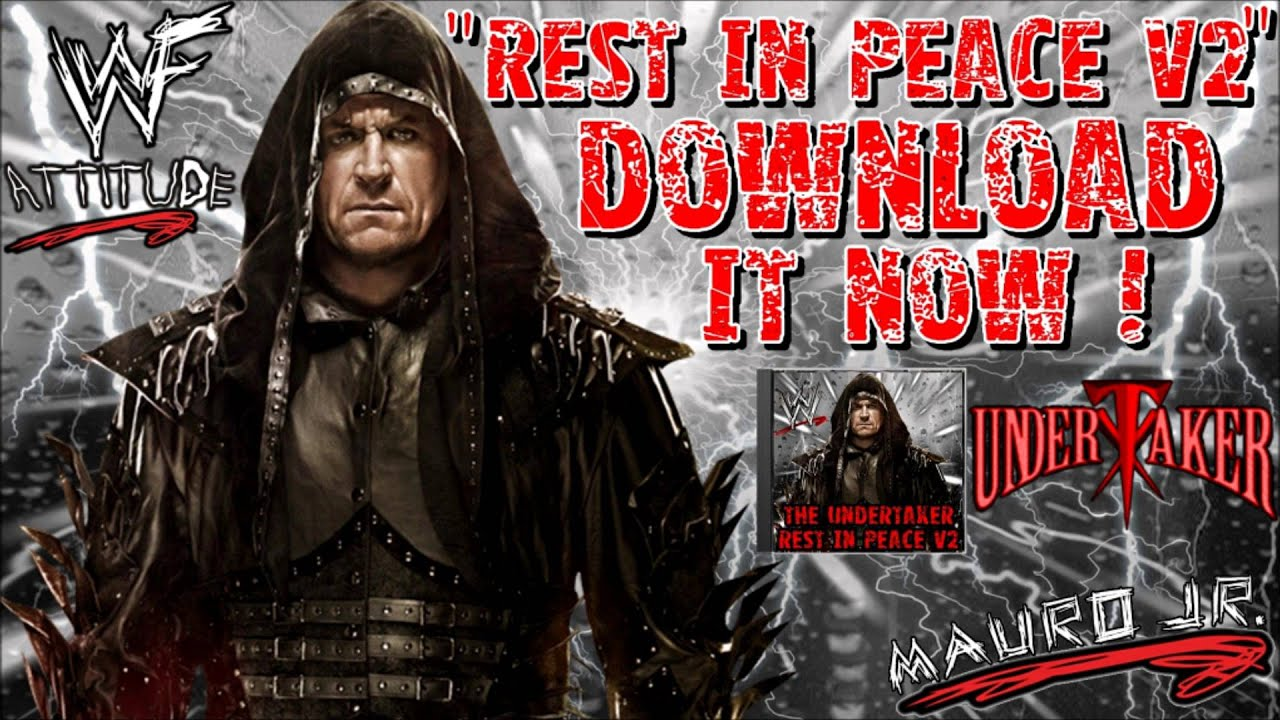 WWE Rest In Peace V2 The Undertaker