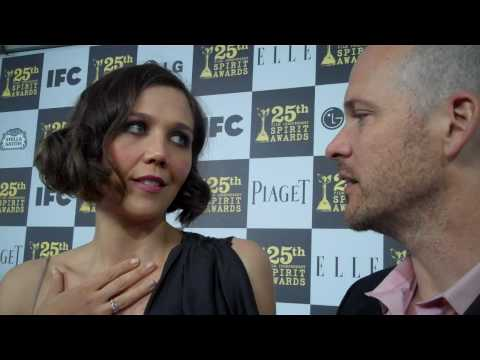 Maggie Gyllenhaal and Peter Sarsgaard at the 2010 Independent Spirit Awards