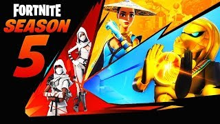 TOUS LES SECRET DE LA SAISON 5 DE FORTNITE BATTLE ROYALE DÉVOILÉS ! LEAK FORTNITE SEASON 5