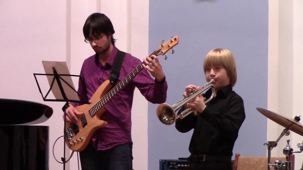 Уроки игры на трубе мядель