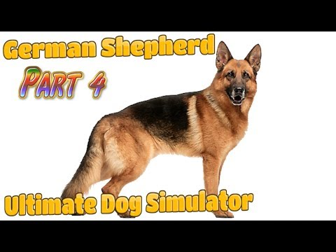 🐶🇩🇪German Shepherd Continue -Ultimate Dog Simulator-Part 4--Offered By Gluten Free Games-IOS/Android
