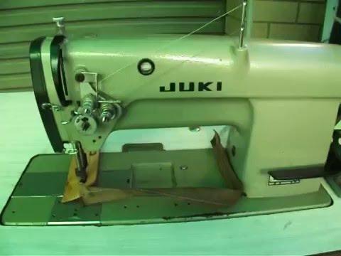JUKI LH 515 twin needle compound feed.