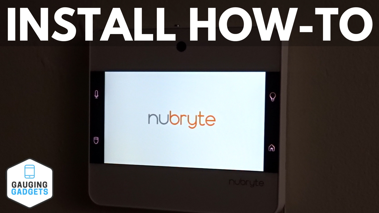 How To Install The NuBryte Touchpoint All-in-One Smart Hub - Installation  Tutorial
