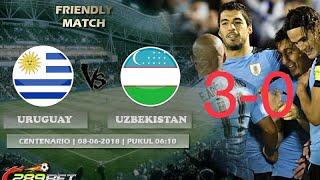 УЗБЕКИСТАН УРУГВАЙ 0 3 ТОВАРИЩЕЙ МАТЧ  Uzbekistan Uruguay 0 3 urtoqlik uchrashuvi