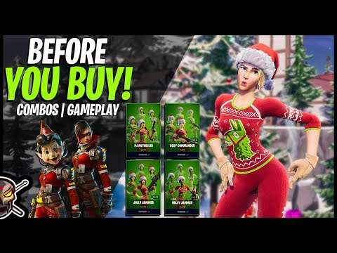 Before You Buy CUTIEPIE   COZY COMMANDER SET! All 4 Edit Style Combos/Gameplay (Fortnite BR)