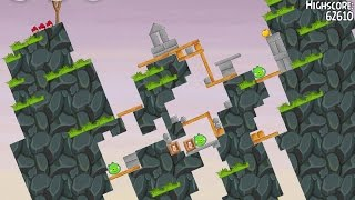 Angry Birds Seasons South HAMerica Level 1-11 Mighty Eagle Walkthrough