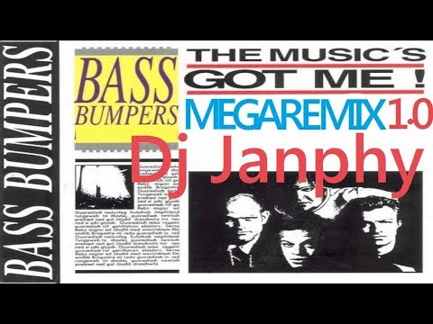BASS BUMPERS - The musics got me ( 2018 megaremix 1.0 Dj Janphy )