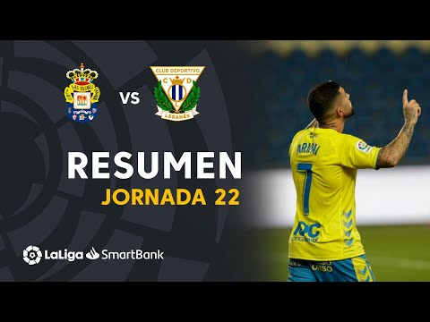 Las Palmas Leganes Goals And Highlights