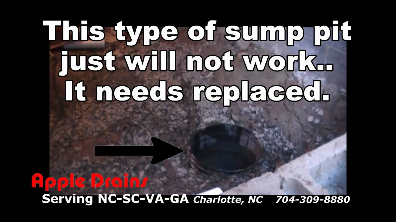 Crawl Space Waterproofing Sump Pit And Pump Install
