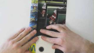 WIRED UNPLUGGED. How to make a DVD sleeve with wired magazine