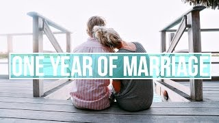 What We Learned From 1 Year of Marriage! | Q&A
